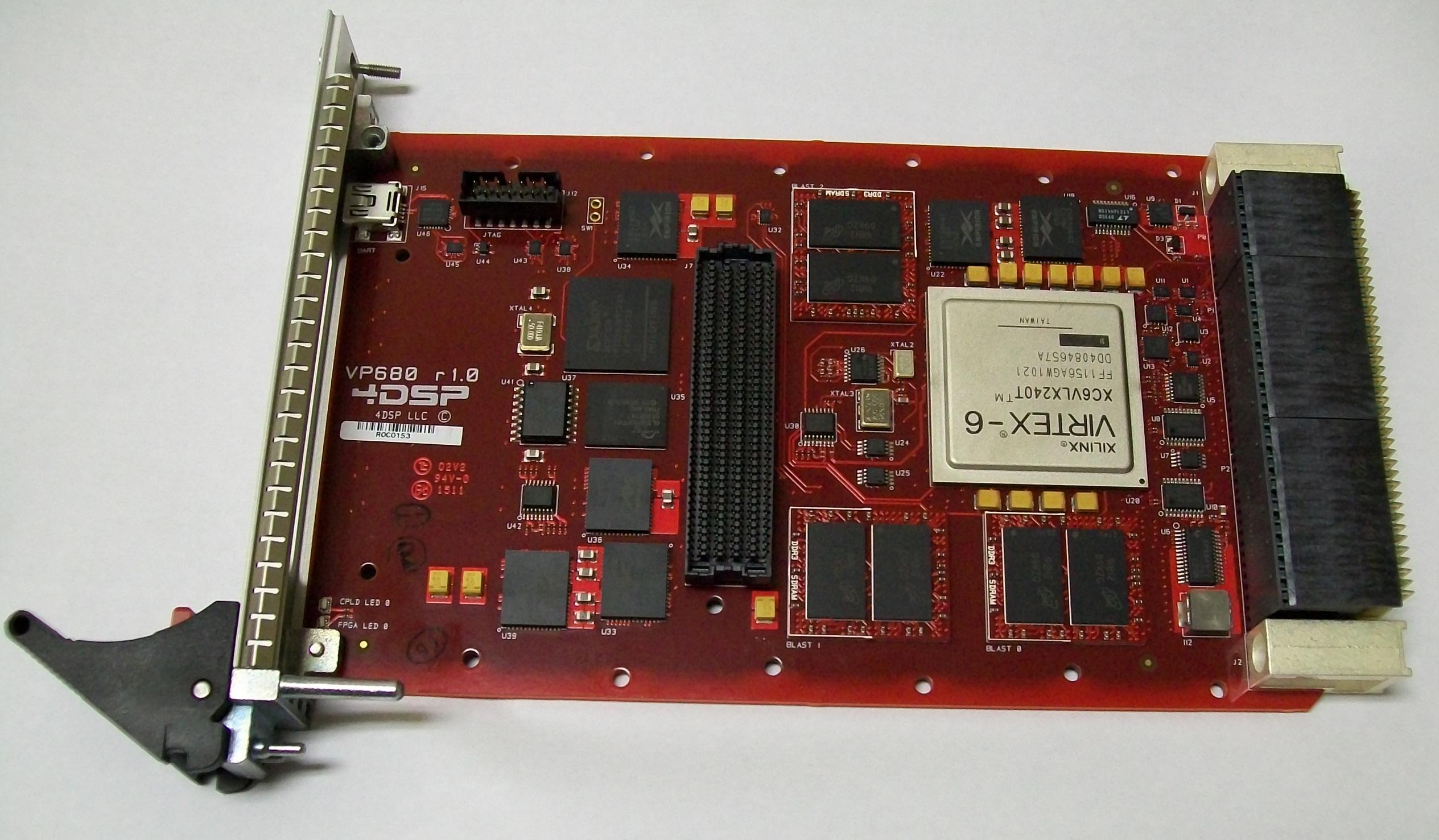 Vp680 Virtex 6 3u Vpx Vita 46 4dsp Llc