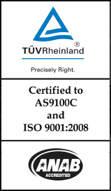 AS9100C certified